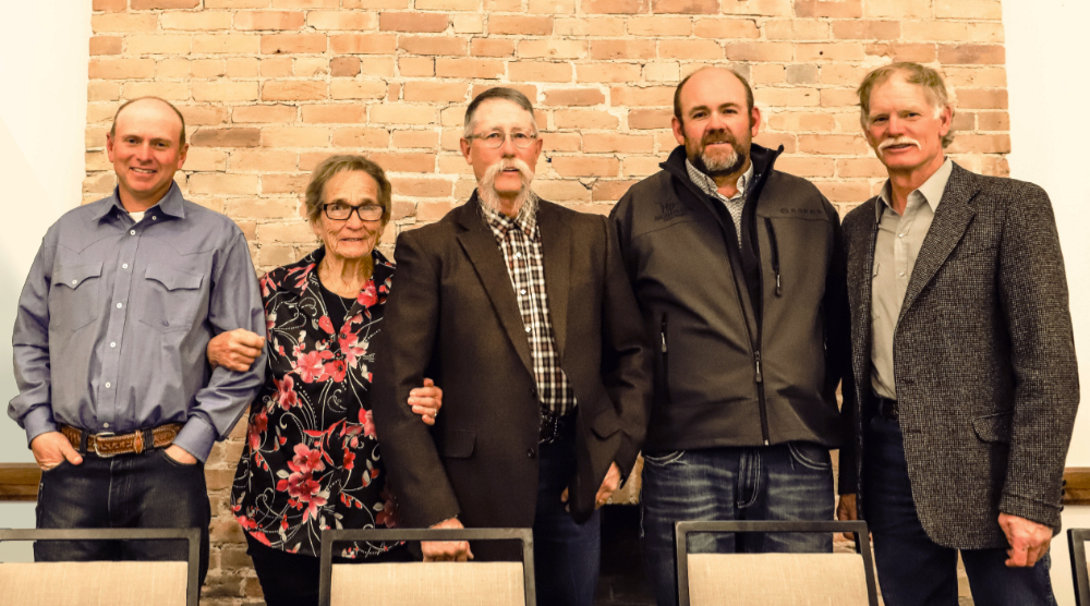 Your Board of Directors (L to R): Ted Nieslanik, Martha Coulison, Tom Harrington, Sean Martin, and Max MacDonell