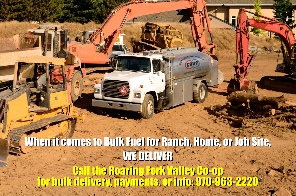 We deliver bulk gasoline and diesel to your home, ranch, or job site!